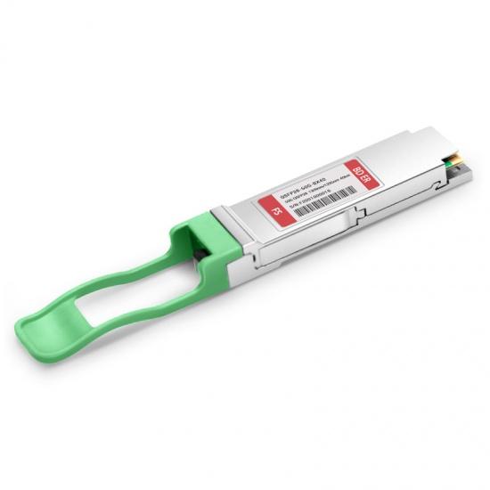中性(Generic)兼容50GBASE-BX40-D 50G BiDi QSFP28单纤双向光模块 1309nm-TX/1295nm-RX 40km DOM