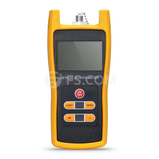 FOPM-102 Handheld Optical Power Meter(-50~+26dBm) with 2.5mm+FC+SC+ST Connector