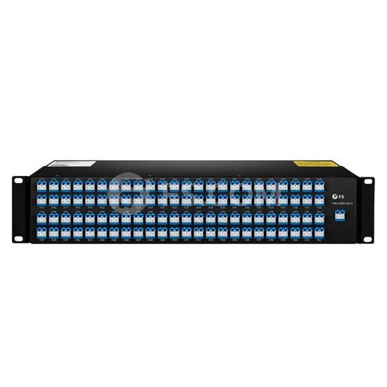 Mux Demux DWDM Double Fibre à 96 Canaux CH15-CH62,5, AAWG, FMU Montage en Rack 2U, LC/UPC