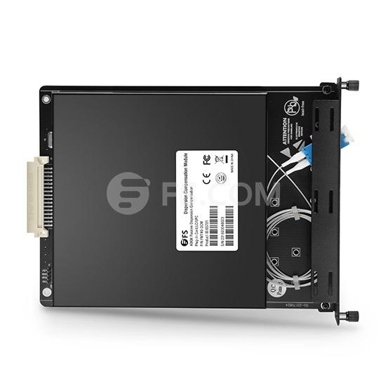 40KM DCF-basierte Passive Dispersion Kompensation Module, 3.5dB Geringer Verlust, LC/UPC, Plug-in Kartentyp für FMT Multi-Service-Transportsystem