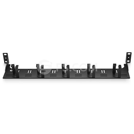 19 zoll Leeres Rackmount LWL-Patchpanel, 1 HE Horizontaler mit Kabelführungspanel und Lacing Bar