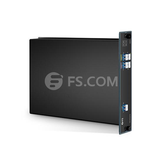 4-Kanale CWDM-Multiplexer, FMU Plug-in Module, LC/UPC 1270-1330nm Doppelfaser