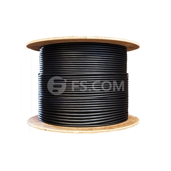 24 Fibers Singlemode 9/125 OS2, LSZH Rated, Single Armored Double Jacket, Indoor/Outdoor Tight-Buffered Distribution Cable