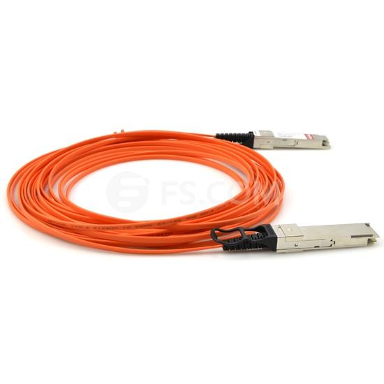 7m (23ft) Cisco QSFP-H40G-AOC7M Compatible 40G QSFP+ Active Optical Cable