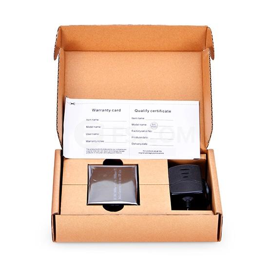 Unmanaged 1x 10/100/1000Base-T RJ45 to 1x 1000Base-X SFP, Gigabit Ethernet Media Converter, AC 100V~240V