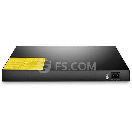 S2800-24T4F Fanless 24-Port 100/1000BASE-T Gigabit Managed Switch mit 4 Combo SFP Slots