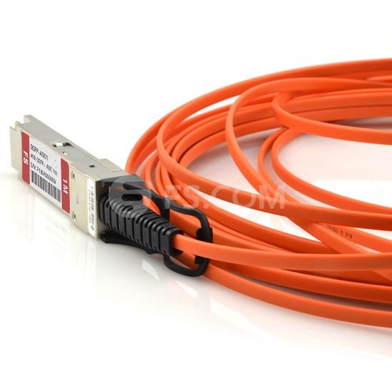 1m (3ft) Cisco QSFP-H40G-AOC1M Compatible 40G QSFP+ Active Optical Cable