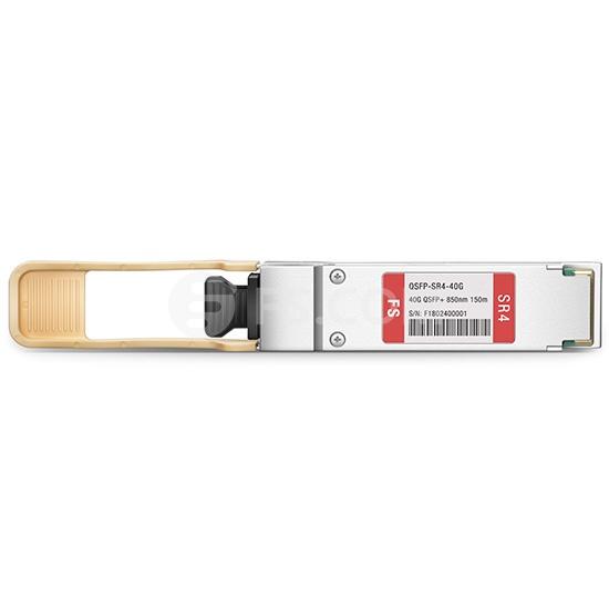 QSFP+ Transceiver Modul mit DOM - Cisco QSFP-40G-SR4-S Kompatibel 40GBASE-SR4 QSFP+ MTP/MPO 850nm 150m