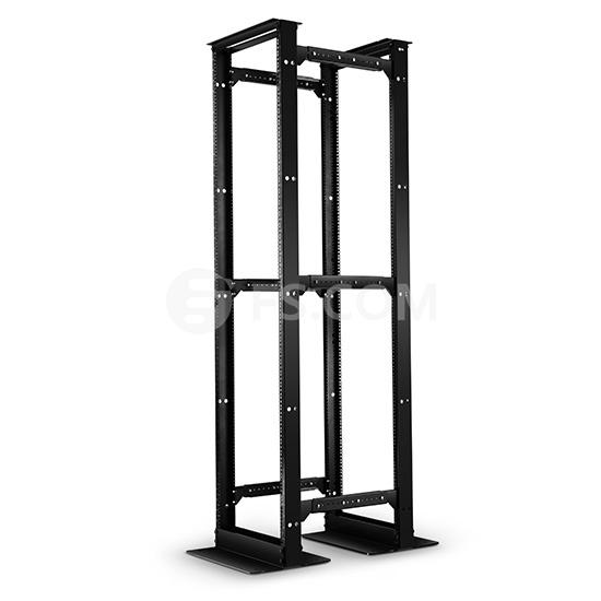 45U GF4-Series 4-Post Adjustable Open Frame Rack