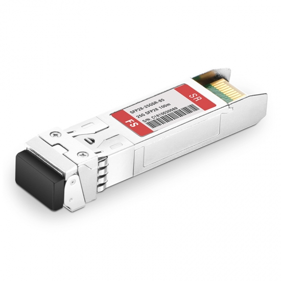 25G SFP28 850nm 100m DOM Transceiver Module for FS Switches