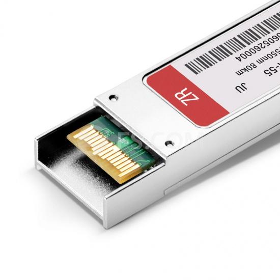 XFP Transceiver Modul mit DOM -Juniper Networks EX-XFP-10GE-ZR Kompatibel 10GBASE-ZR XFP - 1550nm 80km