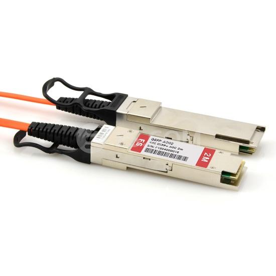 Cable Óptico Activo 40G QSFP+ 2m (7ft) - Compatible con Cisco QSFP-H40G-AOC2M