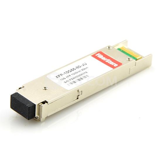 Juniper Networks EX-XFP-10GE-ZR Compatible 10GBASE-ZR XFP 1550nm 80km DOM Module Émetteur-Récepteur Optique
