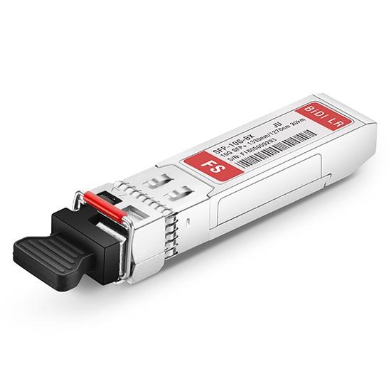 瞻博(Juniper)兼容EX-SFP-10GE-BX32-20-I BiDi SFP+万兆单纤双向工业级光模块 1330nm-TX/1270nm-RX 20km DOM
