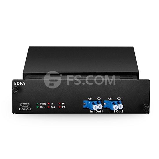 EDFA de etapa media personalizada para redes DWDM