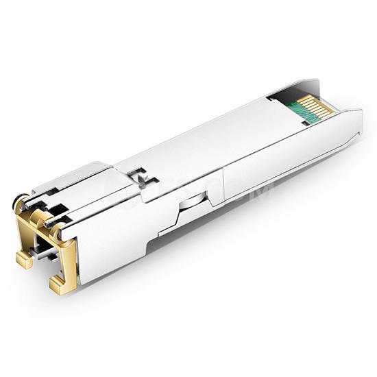 10/100/1000BASE-T SFP Copper RJ-45 100m Transceiver Module