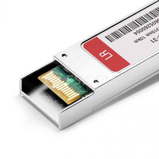 Cisco XFP-10GLR-OC192SR Compatible 10GBASE-LR/LW and OC-192/STM-64 SR-1 XFP 1310nm 10km DOM Transceiver Module