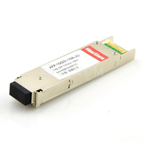 Juniper Networks XFP-10G-L-OC192-SR1 Compatible 10GBASE-LR/LW et OC-192/STM-64 SR-1 XFP 1310nm 10km DOM Module Émetteur-Récepteur Optique