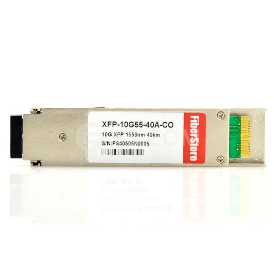 Cisco XFP-10GER-192IR+ Compatible 10GBASE-ER/EW y OC-192/STM-64 IR-2 XFP 1550nm 40km DOM Módulo Transceptor