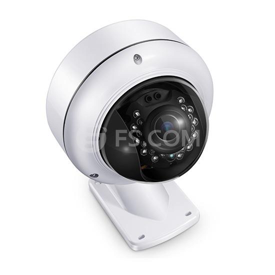 4MP Cámaras IP bullet para interior/exterior con infrarrojos y zoom óptico