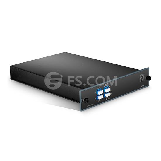 1-Kanale C21 Doppelfaser DWDM OADM, Ost und West, FMU Plug-in Module, LC/UPC