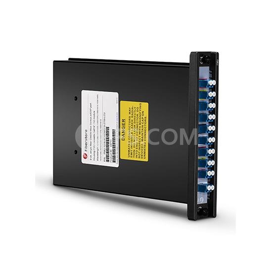 Pair Packaged 9 Channels 1270-1610nm Single Fiber CWDM Mux Demux, FMU Plug-in Module, LC/UPC