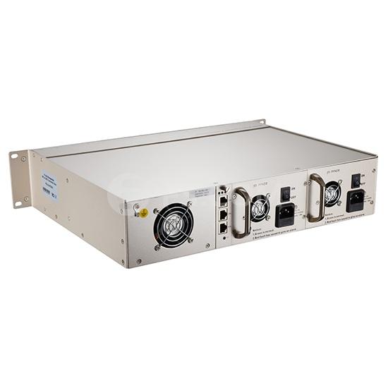 Chasis gestionado de plataforma unificada, multiservicios de montaje en bastidor 2U