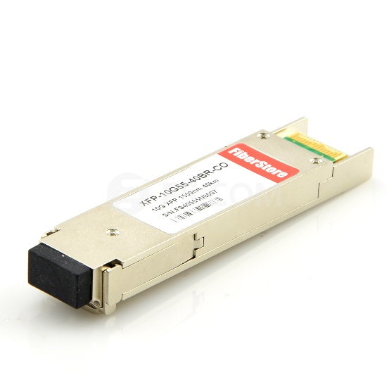 Cisco XFP10GER192IR-RGD Compatible 10GBASE-ER/EW and OC-192/STM-64 IR-2 XFP 1550nm 40km IND DOM Transceiver Module