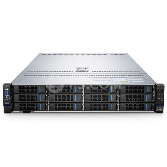 RS-7288 2U, 2-Socket Rack Server with Two Intel® Xeon® Silver 4116 for Virtualization Workloads