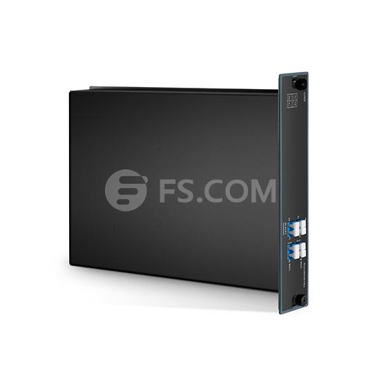 CWDM OADM fibra única con 1 canal 1470-1490nm, este y oeste, FMU módulo plug-in, LC/UPC