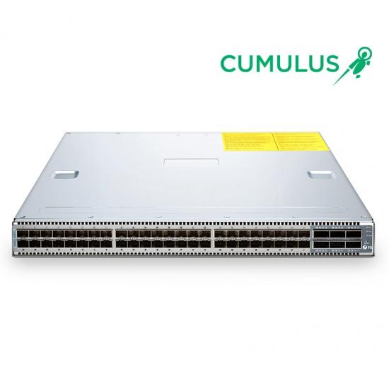 N5850-48S6Q (48*10Gb+6*40Gb) 10Gb SDN Switch with Cumulus® Linux® OS