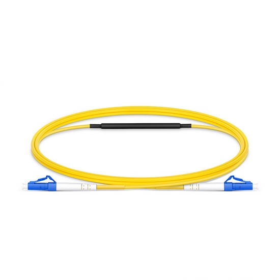 1m (3ft) LC to LC UPC Simplex OS2 Single Mode Fiber Optic Testing Cable with 15 dB Attenuator