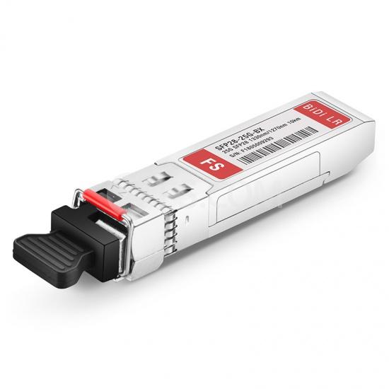Cisco SFP-25GBX-D-10 Compatible 25GBASE-BX10-D SFP28 1330nm-TX/1270nm-RX 10km DOM Transceiver Module