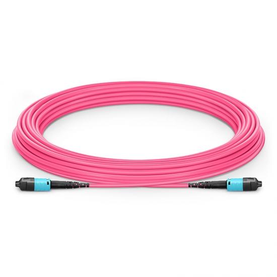 定制8-144芯万兆多模(OM4)MTP PRO(12芯)主干光纤跳线