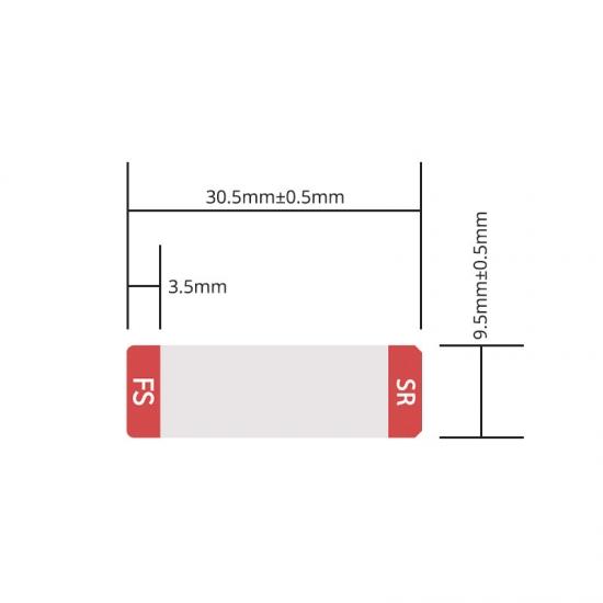 定制标签 专用于10G SFP+光模块 2000pcs