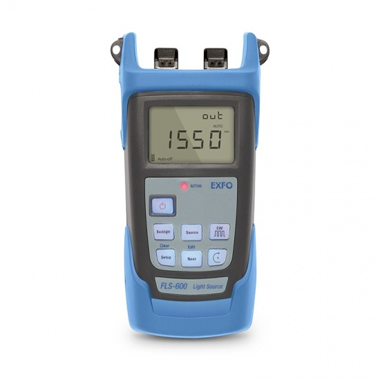 EXFO FLS-600 手持式光源(1310/1550nm) ,带2.5mm UPC/SC连接头