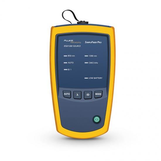 FLUKE/福禄克 SimpliFiber® Pro多模光源8500/1300nm,2.5mm SC/UPC端口