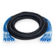 3m (10ft) 6 Plug to 6 Plug Cat6 Unshielded (UTP) PVC CMR Pre-Terminated Copper Trunk Cable