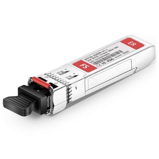 Cisco SFP-25G-ER-S-I Compatible Module SFP28 25GBASE-ER 1310nm 30km Industriel DOM