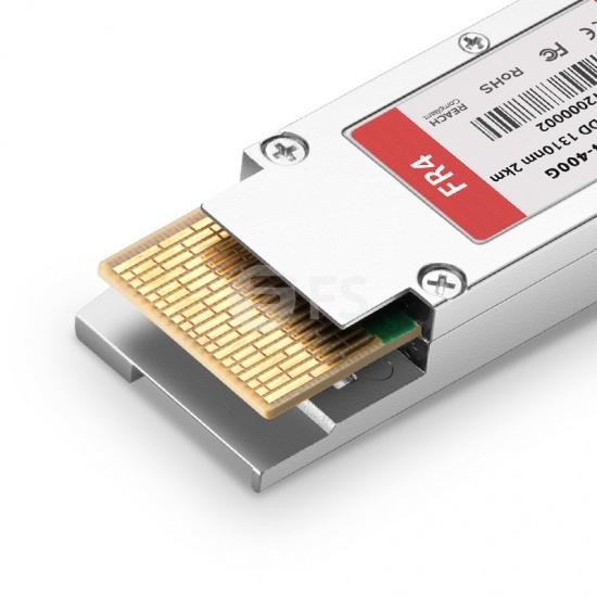 瞻博(Juniper)兼容QDD-400G-FR4  QSFP-DD PAM4光模块 1310nm 2km