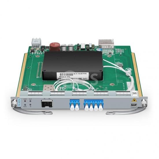 Module Enfichable Pré-Amplificateur Gain de 25dB, Puissance de Sortie 16dBm, LC/UPC