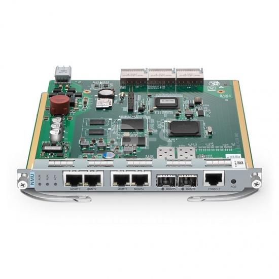 M6200-NMU2U M6200 2Uマネージドシャーシ用ネットワーク管理ユニット(2x100Base-X SFPポート、4x10/100Base-TRJ45ポート)