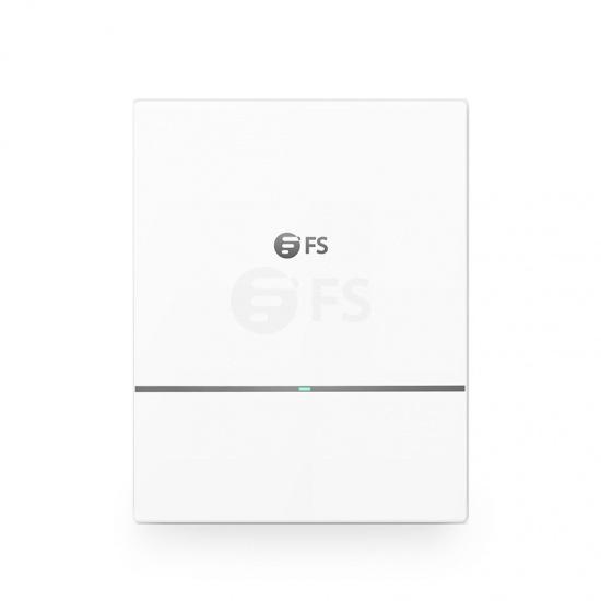 Punto de acceso inalámbrico Wi-Fi 6 802.11ax 2400 Mbps, AP-W6D2400C, itinerancia continua y 2x2 MU-MIMO Dual-Band, administrable via el controlador FS o independiente (sin inyector PoE)
