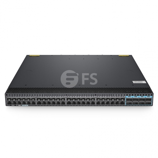 N5860-48SC, 48-Port L3 Data Center Switch, 48 x 10Gb SFP+, with 8 x 100Gb QSFP28 Uplinks, Stackable, Broadcom Chip, Software Installed