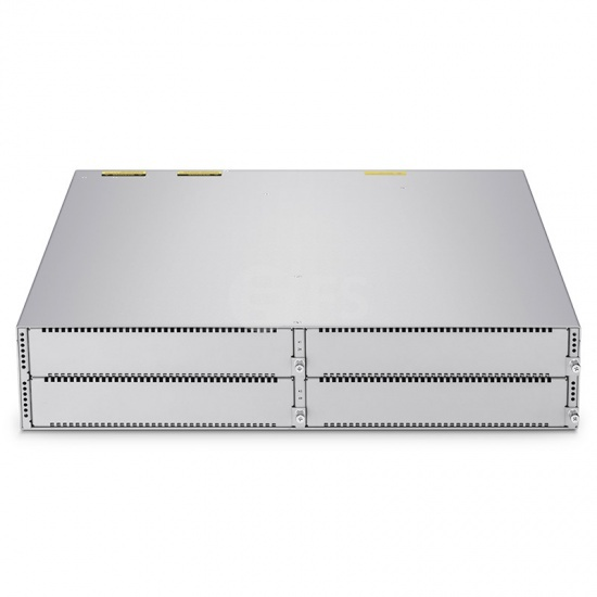 NC8200-4TD, 4-Slot 2U L3 Data Centre Chassis Switch Unloaded, Supports 4 x 25/40/100Gb Line Cards, Stackable, Broadcom Chip, Software Installed