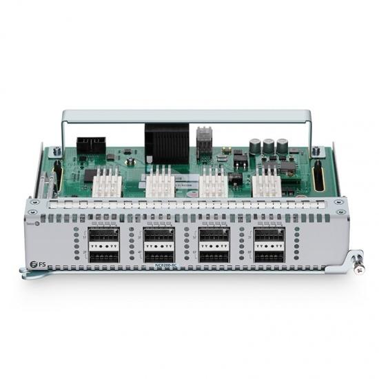 NC8200-8C, tarjeta de línea Ethernet con 8 puertos QSFP28 de 100Gb, para switch basado en chasis para centro de datos modelo NC8200-4TD