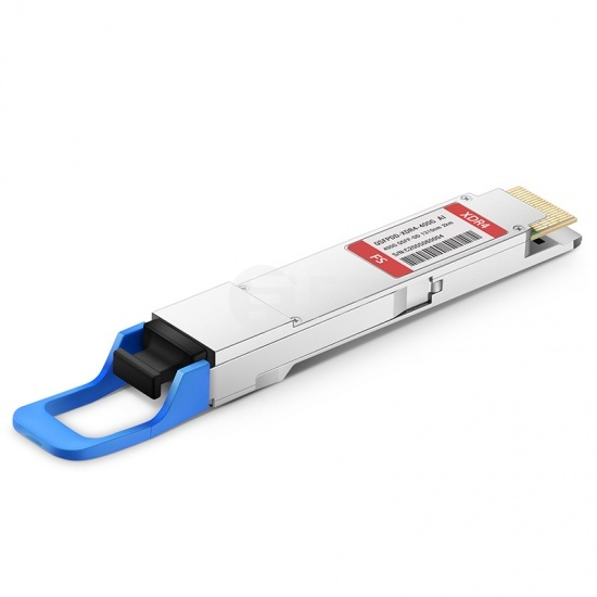 QSFP-DD Transceiver Modul mit DOM - Arista Networks QDD-400G-XDR4 kompatibles 400GBASE-XDR4 QSFP-DD PAM4 1310nm 2km MTP/MPO SMF