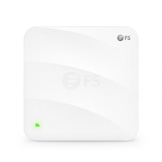 AP-W6Q4134C Беспроводная точка доступа Wi-Fi 6 802.11ax 4134 Mbps, бесшовный роуминг, 2x2 MU-MIMO четырёхдиапазонная, управляется через FS контроллер или независимо (инжектор PoE в комплекте)