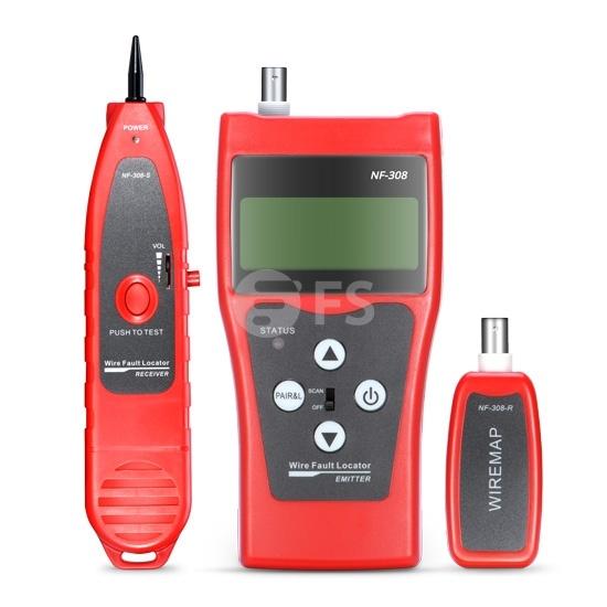 Тестер для Проверки Кабеля & Проводный Трекер NF-308 для RJ45, RJ11 и RJ12