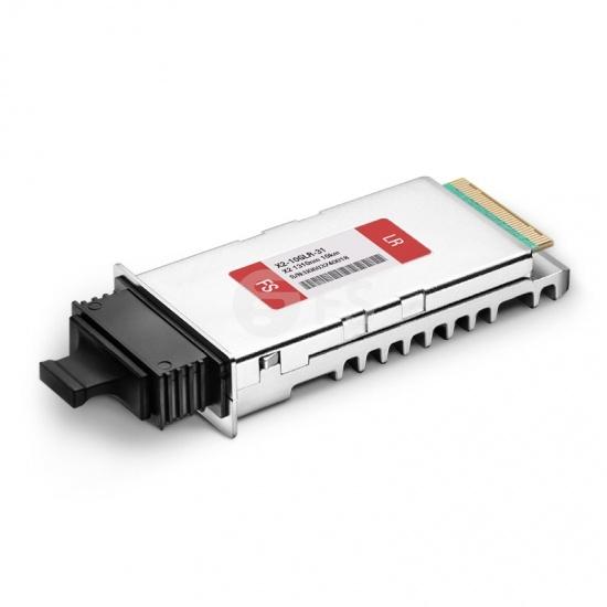 Cisco X2-10GB-LR Compatible 10GBASE-LR X2 1310nm 10km DOM Módulo transceptor